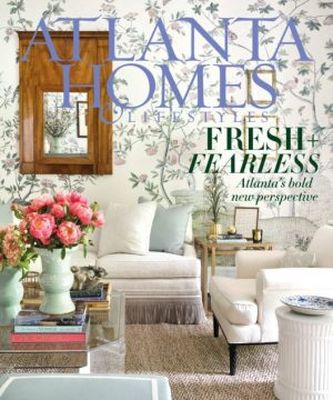 Atlanta Homes & Lifestyle's Cover -Sept, 2018 Issue