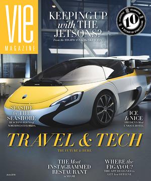 VIE Magazine's Cover -Sept, 2018 Issue
