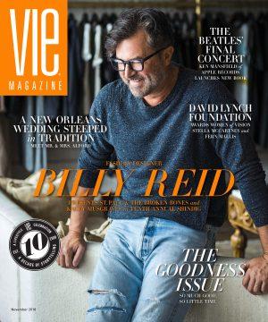 Vie Magazine's Cover -Nov, 2018 Issue